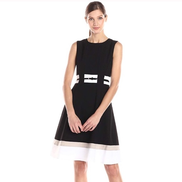 Calvin Klein Dresses & Skirts - Calvin Klein Fit and Flare Professional Dress